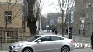 Взрыв возле школы в Ростове