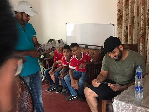 Rohit Sharma keeps his promise by visiting Sri Lankan fan's home in Colombo