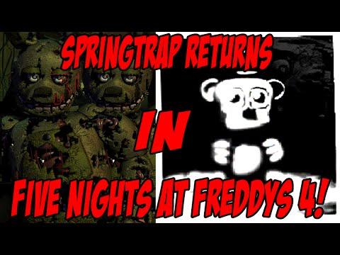 Download five nights at freddys 3 secret springtrap pictures easter