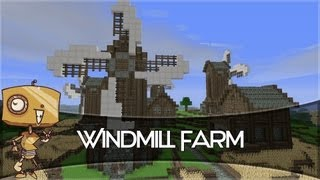 Minecraft Let's Build - a Windmill Farm