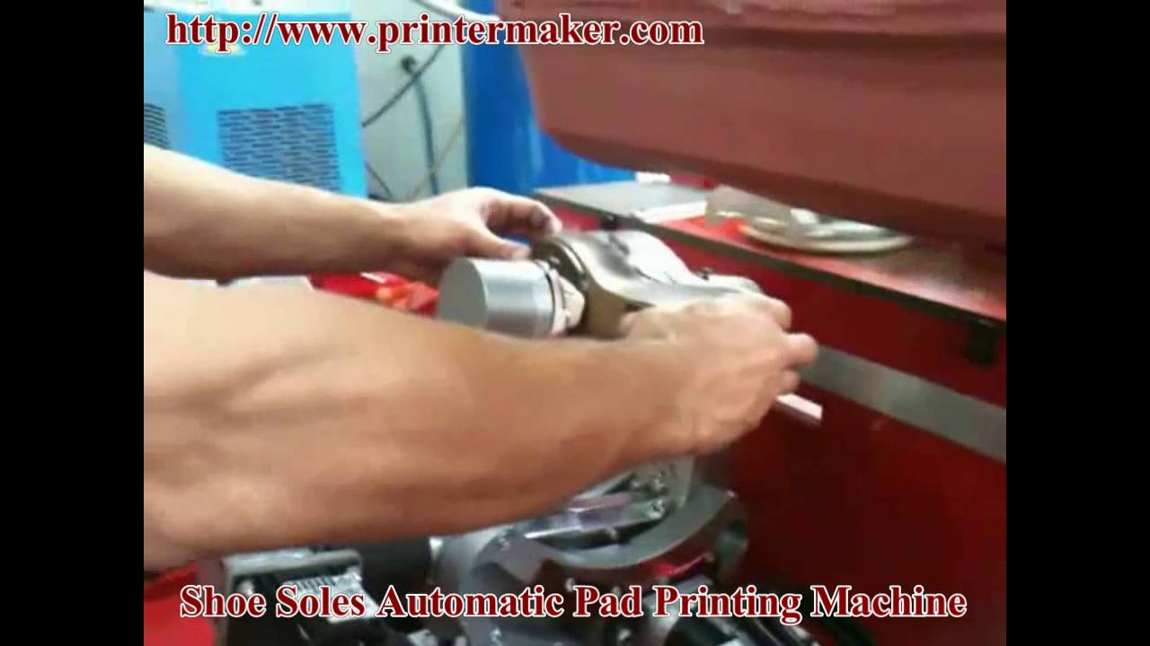 Shoe Soles Automatic Pad Printing Machine