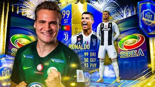 WIR ZIEHEN TOTS CRISTIANO RONALDO | TOP 100 WEEKEND LEAGUE REWARDS | SaLz0r