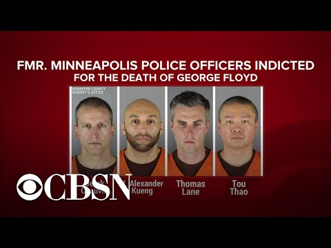 Federal charges for 4 former officers involved in the death of George Floyd