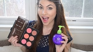 My March Favorites! & MAKEUP BRUSH SET GIVEAWAYS! | Kayleigh Noelle