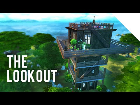 The Sims 4 Speed Build — THE LOOKOUT