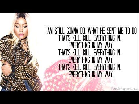 Nicki Minaj - Win Again (Lyrics - Video)