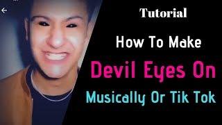 Tik tok devil eyes | how make eye on online ajmir pro ======== download links power director : https://www.mediafire.com/file/g74jepydvq6k278...