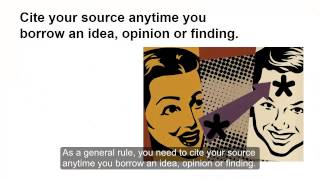 Cite Your Sources: When / Why to Cite