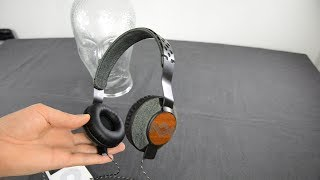 The House of Marley Liberate headphones SPL dB sound test