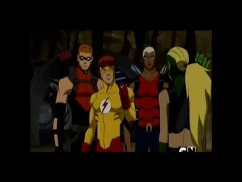 Wally & Artemis  Season 1 Young Justice