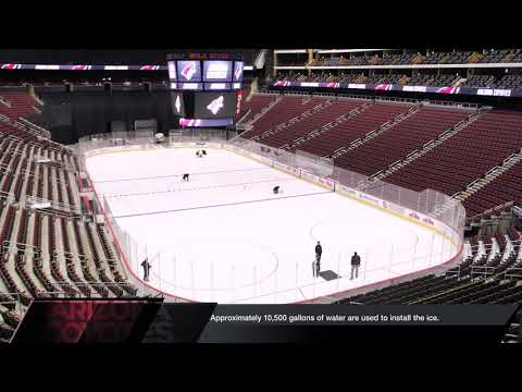 How Do You Build NHL Ice?