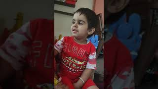 Ganesh stuti Kid learning by nani in his funny and lovely voice