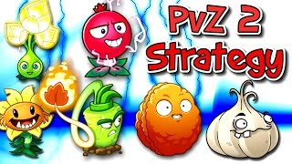 Plants vs. Zombies 2 Gameplay Team Strategy Part 1