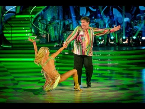 Mark Benton & Iveta Salsa to 'Bom Bom'  Strictly Come Dancing 2013: Week 2  BBC One