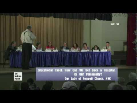 NYS Senator Thomas Duane's Health Care Education P...