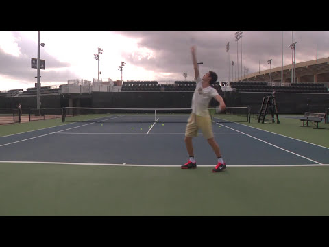 Sean Hill : College Tennis Recruiting Video : Fall 2017