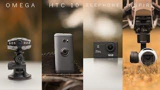 Elephone Explorer Elite vs Zenmuse X3 vs HTC10 vs Omega
