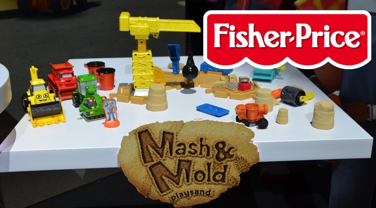 Fisher-Price Bob the Builder Mash /& Mold Construction Site