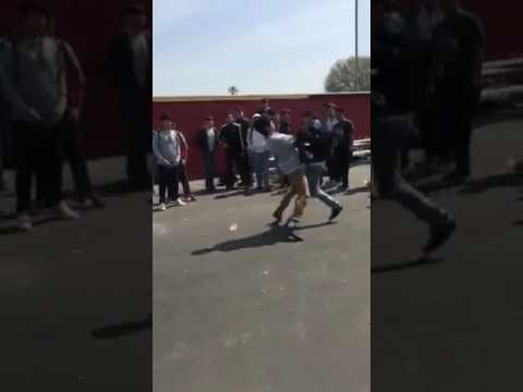 Dominguez high school boxing match