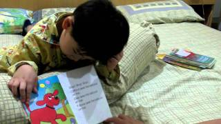 Tonnam read a book