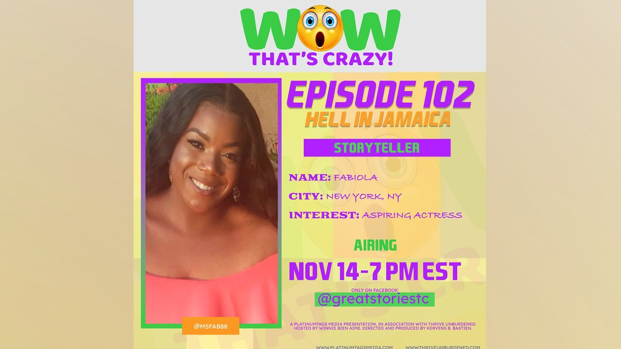 WOW! That's Crazy! S1•E2: HELL IN JAMAICA