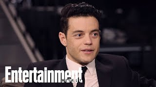 'No Time To Die' Star Rami Malek On His Character Safin, Playing A Villain | Entertainment Weekly
