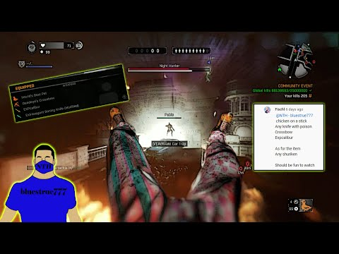 Dying Light - Playing with subscribers lay out choice! xD (open to any other wild layouts) |
