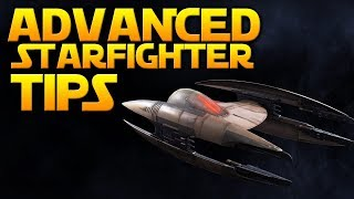 ADVANCED STARFIGHTER TIPS - Star Wars Battlefront 2 (How To Dodge Missiles & More)