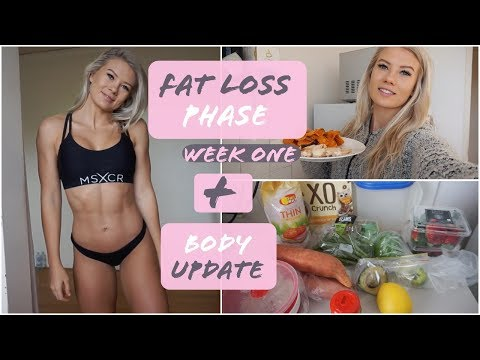 Fat Loss Phase || Week 1 + Body Update ||