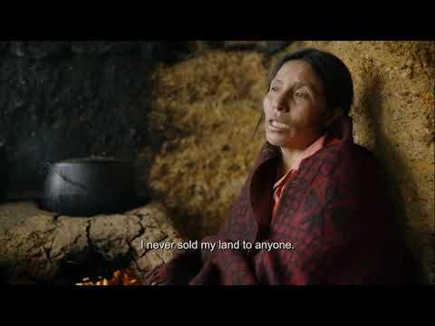 Maxima Documentary Clip Featuring Peruvian Indigenous Farmer Máxima Acuña