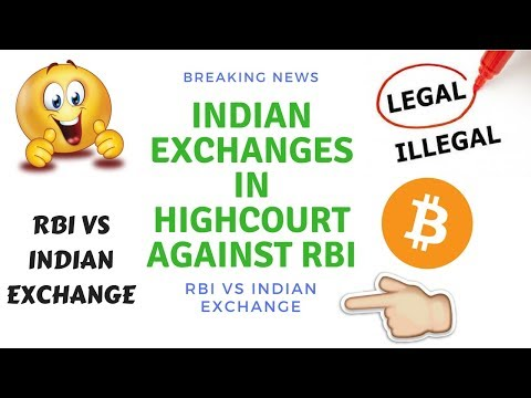 RBI Crypto BAN - Indian Exchange at delhi high court against  RBI