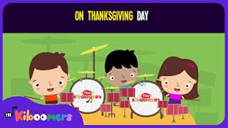 On Thanksgiving Day Song for Kids | Thanksgiving Songs for Children | The Kiboomers