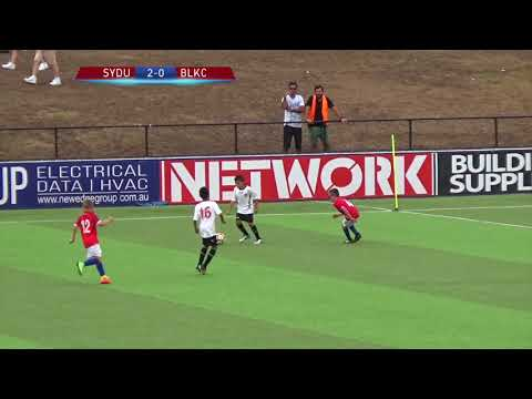 (18/02/2018) Sydney United 58 FC vs Blacktown City FC (U10 Trial Game 2)