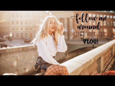 Follow me around in Stockholm! with Huawei