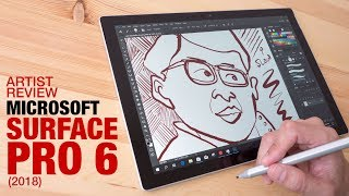 Artist Review: Surface Pro 6 (2018)