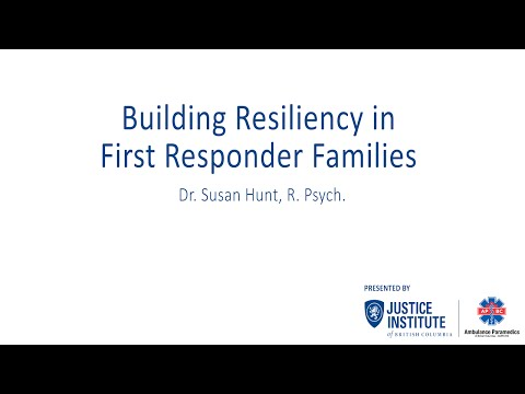 Building Resiliency in First Responder Families