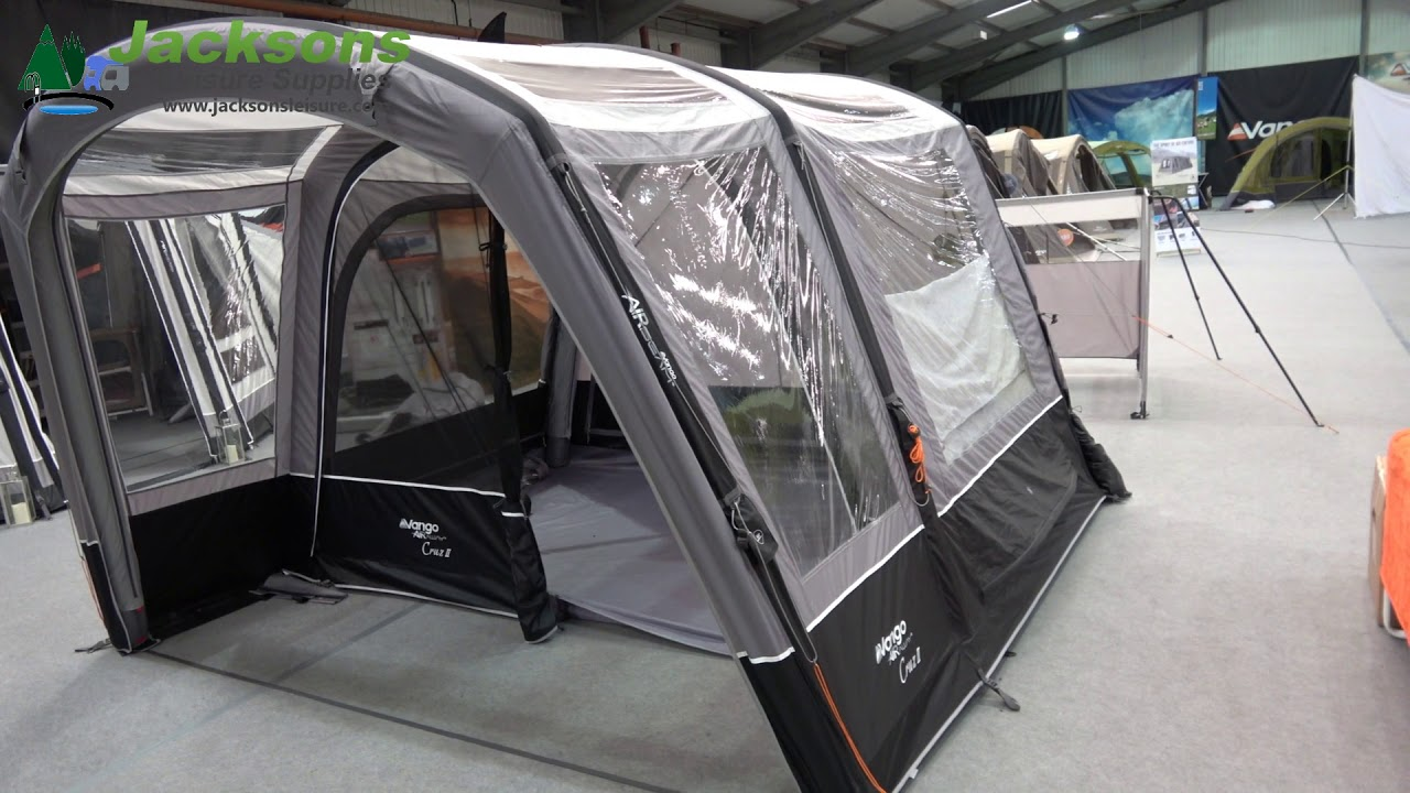 Vango Cruz 2 Airaway Inflatable C&ervan Drive Away Awning. Jacksons Leisure & Vango Cruz 2 Airaway Inflatable Campervan Drive Away Awning - YouTube