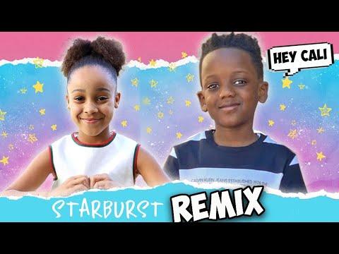 Cali's CRUSH Remixed Her SONG Starburst!! | FamousTubeFamily