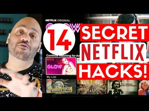 14 NETFLIX HACKS! Secret categories, Netflix for FREE, & More!