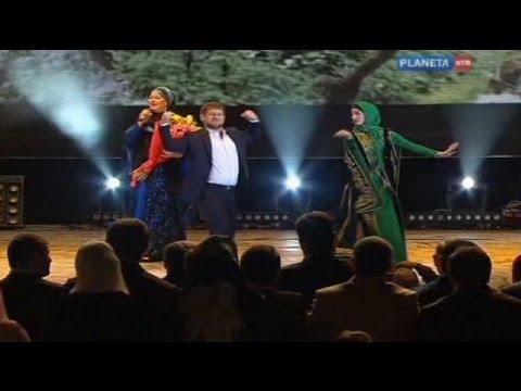 Kadyrov dances as Grozny celebrates