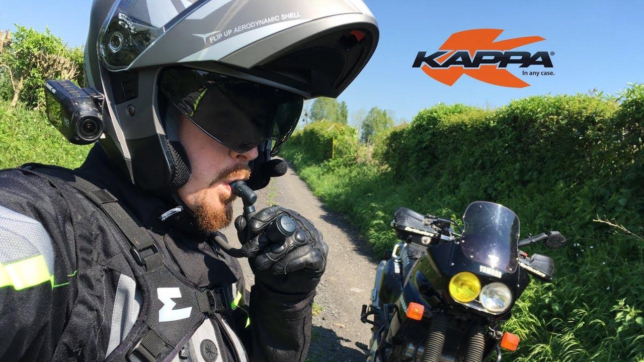 Test Du Kappa Kv31 Un Casque Modulable à Pas Cher Motard