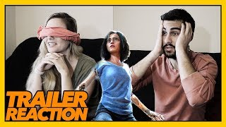 Alita: Battle Angel TRAILER REACTION - SENSORY DEPRIVATION
