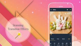 Video Maker Of Photos With Song & Video Editor screenshot 4