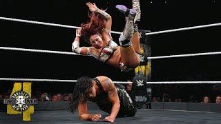 Kairi Sane drops TWO InSane Elbows on Shayna Baszler: NXT TakeOver: Brooklyn IV (WWE Network)