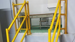 Pipe Handrail (아연도금각관 핸드레일시공)