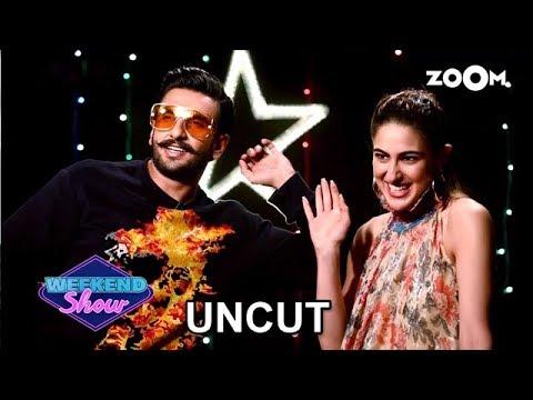 Simmba | Ranveer Singh & Sara Ali Khan | Full Interview | Zoom Weekend Show