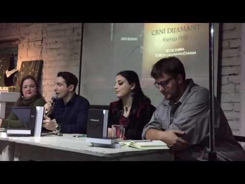 Belgrade Art Show: Promocija knjige 'Crni dijamant'.