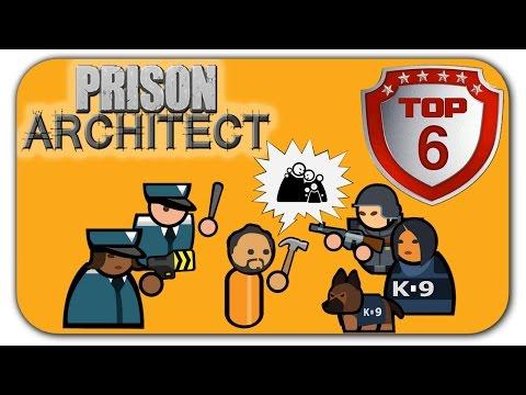Лецплей: Лучшие ТОП 6 побегов в игре Prison Architect