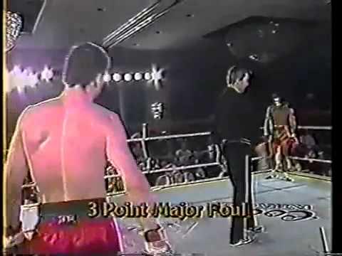 1988 cuando ee.uu conoce a tailandia - C.mundial kickboxing vs muay thai