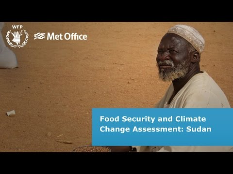 Food security and climate change in Sudan